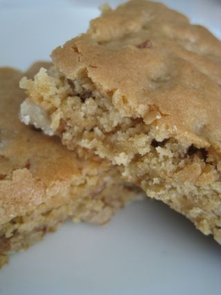 "Butterscotch Bars ~ {Grannie's Old Fashioned} ~ These are not ""my"" Grannie's Butterscotch Bars. The recipe came from the April 17, 2009 Family Circle Magazine."