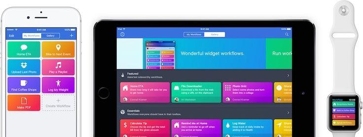 Apple übernimmt Workflow, App nun kostenlos  Vor rund einem Monat berichtete das Magazin TechCrunch von Apples Übernahme der bekannten Automatisierungs-App Workflow und dessen Entwickler DeskConnect Inc. Das erste Resultat der Übernahme ließ nicht lange auf sich warten – Workflow ist nun kostenlos im App Store verfügbar! Was ist...  https://www.apfelmag.com/apple-uebernimmt-workflow-app-nun-kostenlos-13847/  #Apple, #Apps, #Workflow