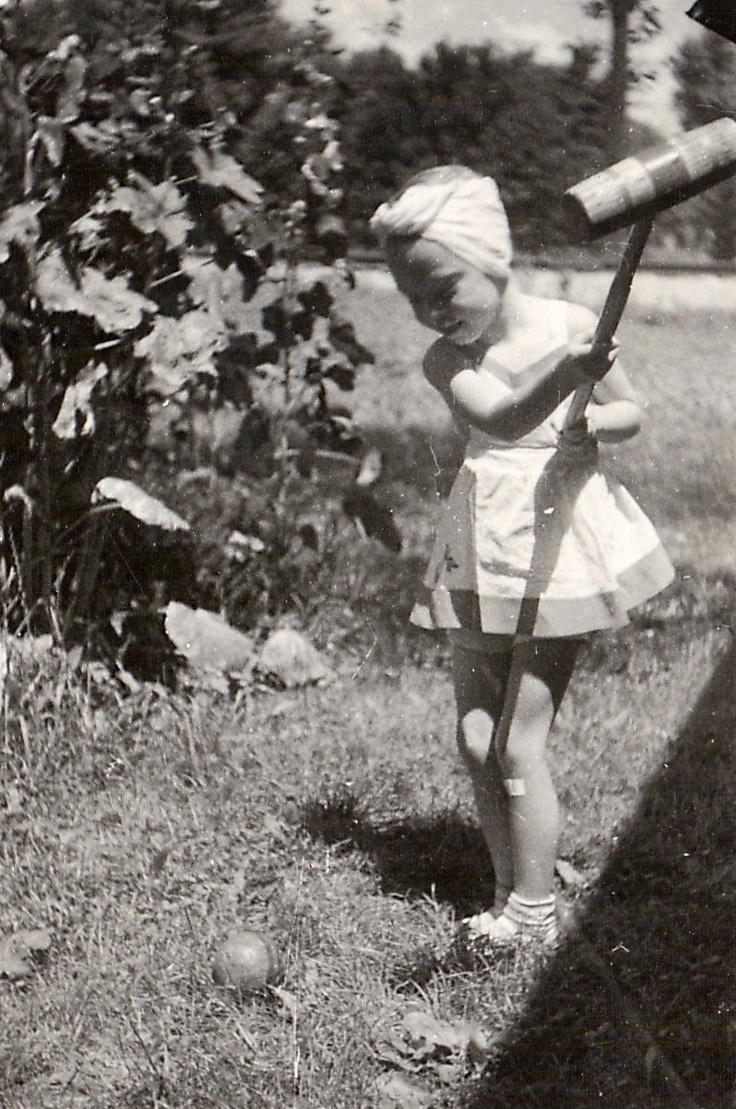"""Croquet...""""back in the day"""""""