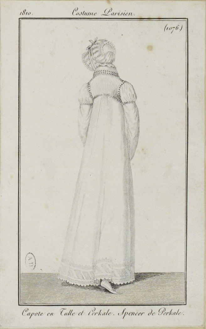 Costume Parisien (1076), 1810.
