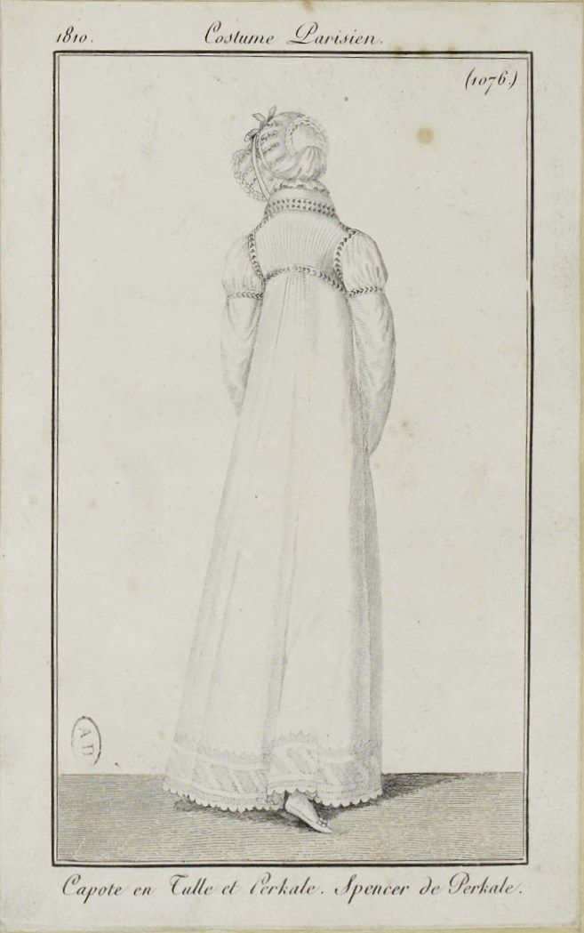 Costume Parisien (1076), 1810.
