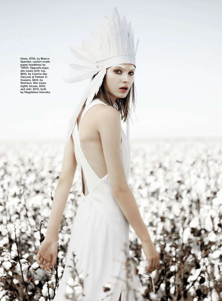 visual optimism; fashion editorials, shows, campaigns & more!: blanc canvas: victoria anderson and vivian witjes by corrie bond for marie claire australia august 2012