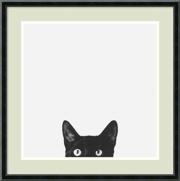 'Curiosity' Framed Print by Jon Bertelli - contemporary - Prints And Posters - Amanti Art