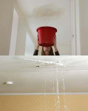 Goteira no telhado ou em qualquer lugar esvazia nosso bom humor. Ou as telhas estão