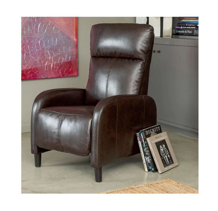 RV Recliner Chairs Furniture For Small Apartment Places Living Room Brown
