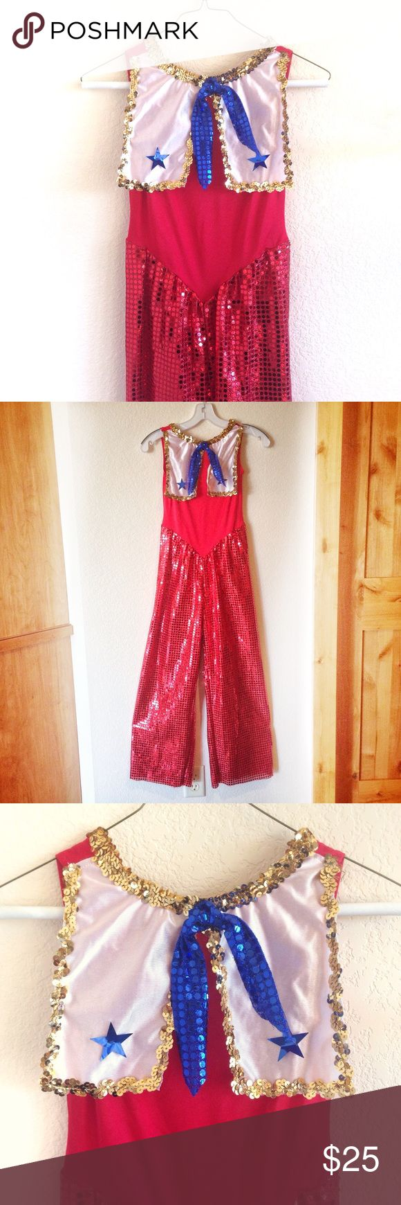 ✨Vintage✨Sequin Sailor Costume! Halloween is near! This is how you win the party. Sequins & stars! This amazing find is in mint condition. Sexy (but not too sexy) sailor, anyone? Make me an offer - it's Halloween, after all 😎✨🌈 Vintage Pants Jumpsuits & Rompers