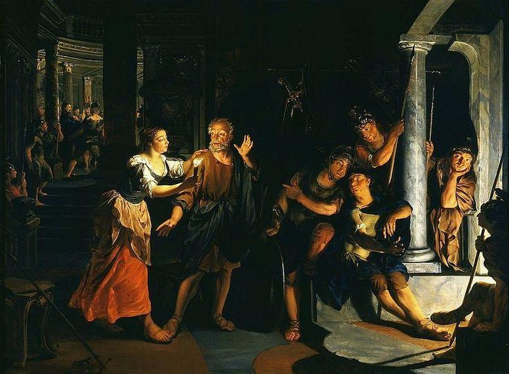 Nicolaes Knüpfer, Denial of Saint Peter