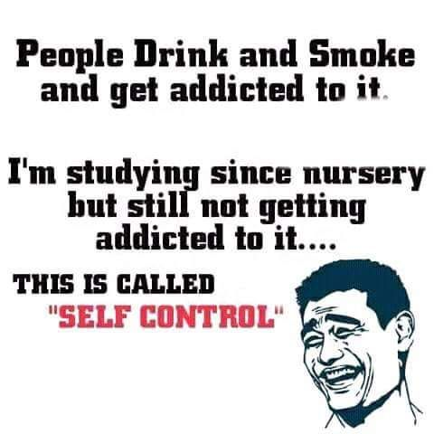 New defination for #Self_control :P :D