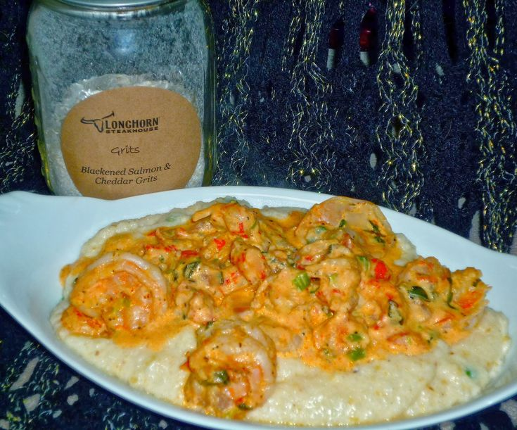 The Weekend Gourmet: LongHorn Steakhouse Food for the Senses Experience Box Challenge...Featuring Creamy Brie Grits with Pico de Gallo Seafood Sauce