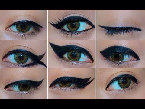 Mono Lid eyeliner styles.