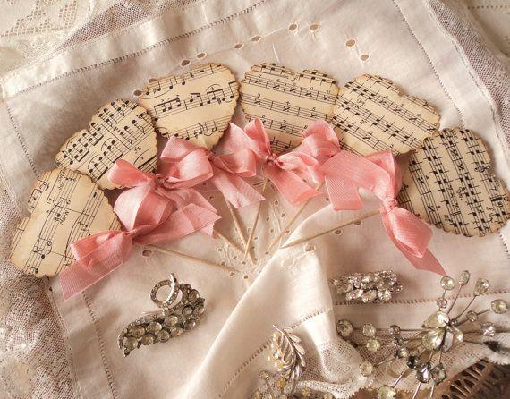 Musica sentita. Dodici antichi spartiti cuore di TheDreamPeddlery