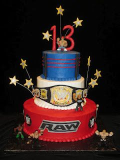 My daughter is turning 9. She wants a mixed theme birthday party, WWE/Michael Jackson. Thought this looked great and could possibly help with what I come up with to accomodate her wants!