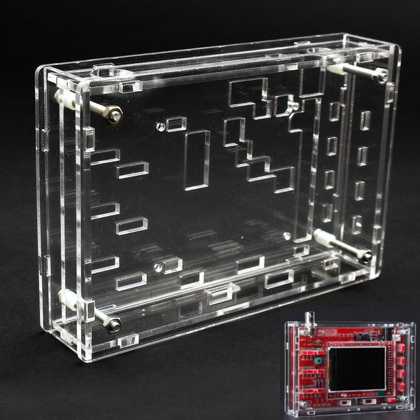 New Type Transparent Acrylic Sheet Housing Case For Dso138 Oscilloscope Hoja De Acrilico Transparente Uganda