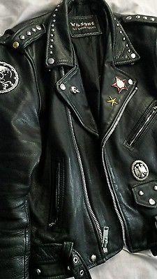 Men's Black Custom Leather Jacket