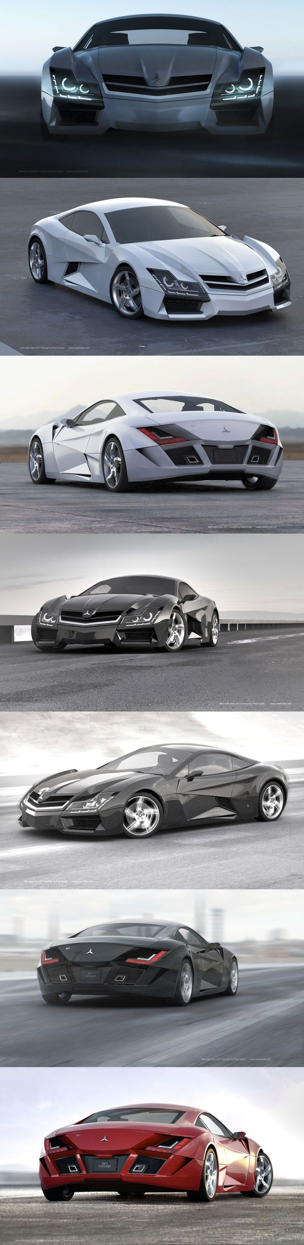 Sick Mercedes super car concept