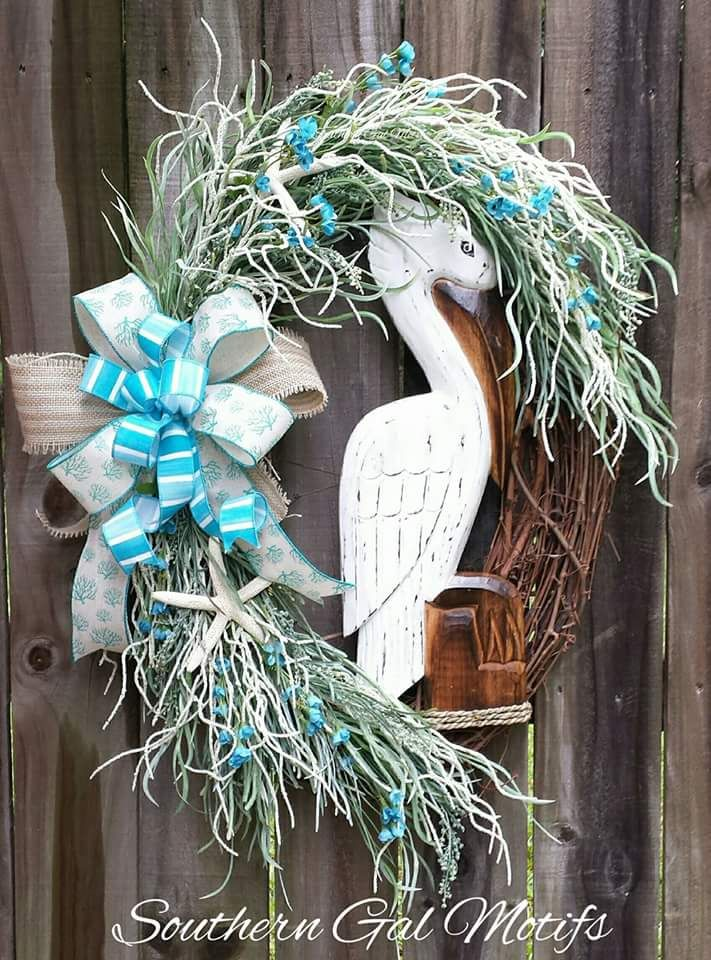 25 Unique Coastal Wreath Ideas On Pinterest Beach