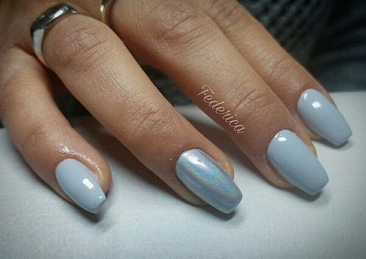 #nails #nailart #nailswag #nailswow #unicorn #holographic
