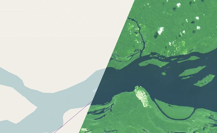 Tracing Landsat 8 for OpenStreetMap by Charlie Lloyd at Mapbox