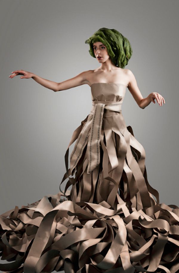 25 Creative Dresses Made From Paper