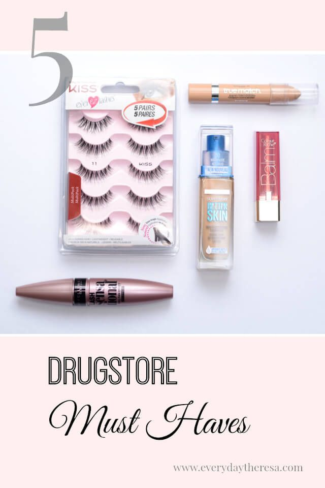 5 Drug store beauty must haves you need to try right now!