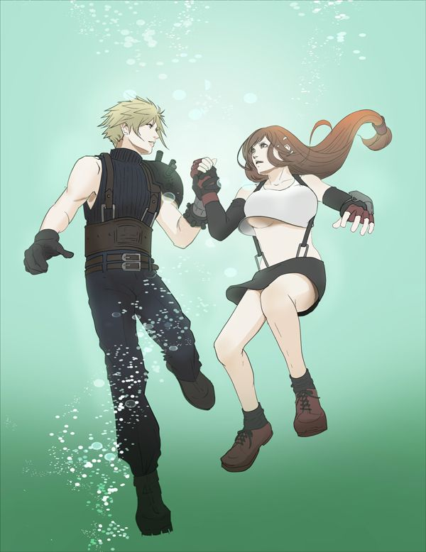 cloud tifa dating Cloud has the option to earn affinity points with four of the game's if your date is tifa, she tries to confess her feelings for you before losing the.