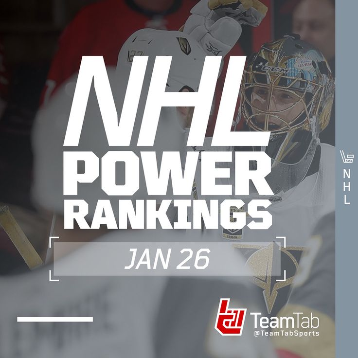 As we cruise through Week 16 and into All-Star Weekend heres our weekly update on the NHL Power Rankings. SWIPE  to see where your team stands!