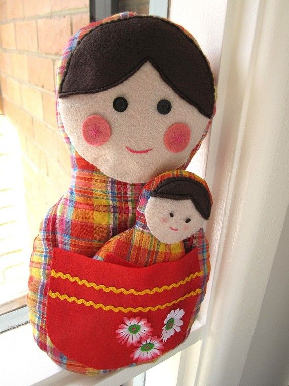matryoshka with baby. now i can't decide which doll to make