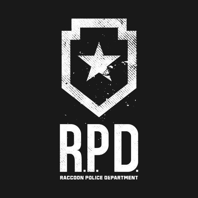 Resident Evil 2 / R P D  / Tshirt | Capcom 2019 | Resident evil game