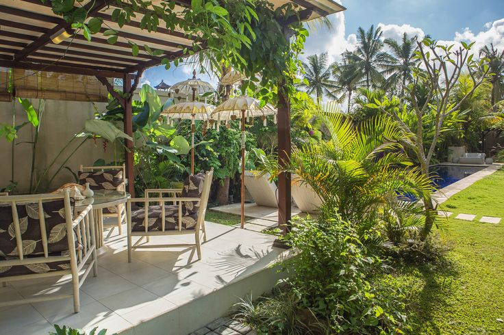 Al Fresco our indoor dining at Villa Ahh, Ubud, Bali