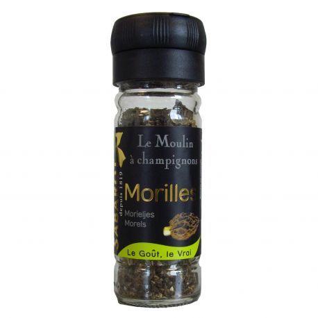 Moulin à champignons - morilles Premium séchées 19g Sabarot