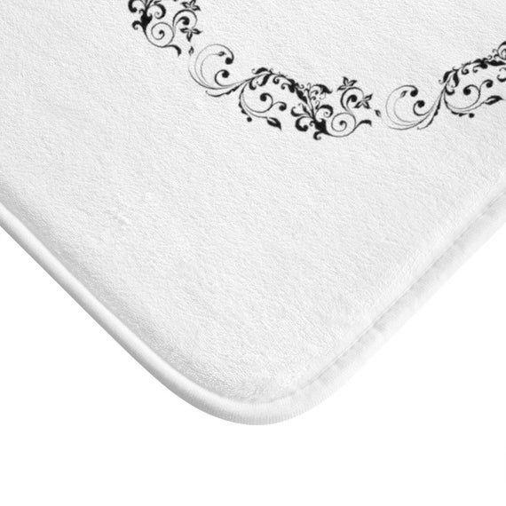 Custom Family Name Bath Mat