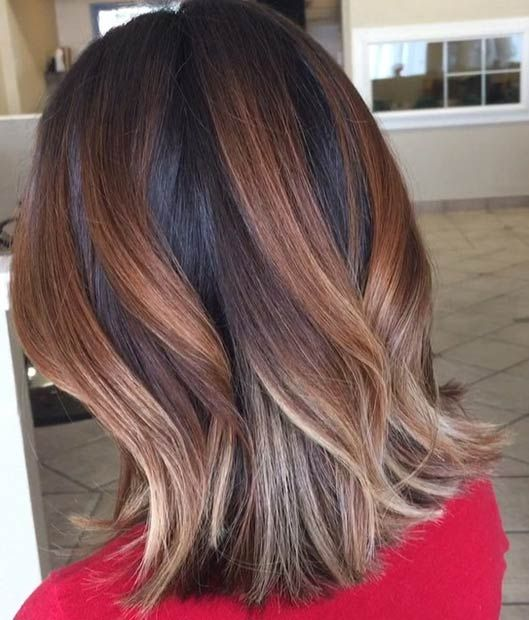 90 best images about hair on pinterest - Balayage caramel blond ...