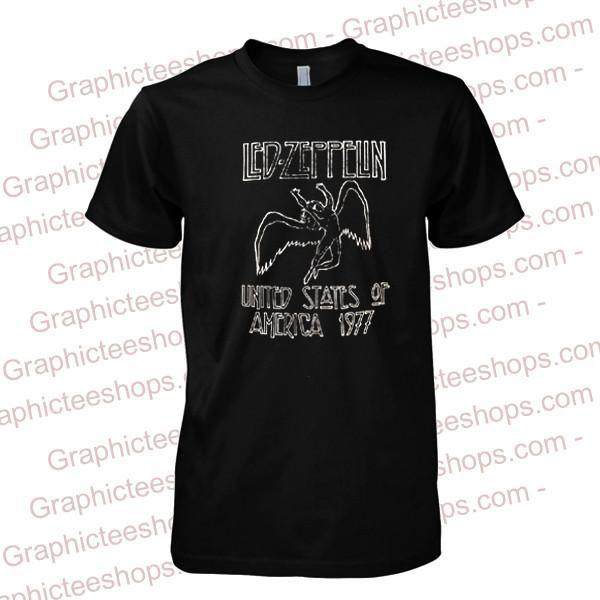 Led Zeppelin Rock Band T Shirt