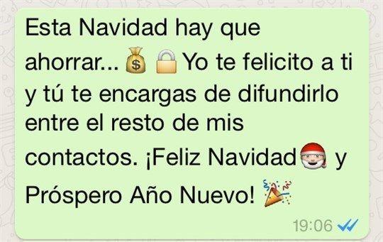 Los mejores memes para desear unas felices Fiestas por WhatsApp