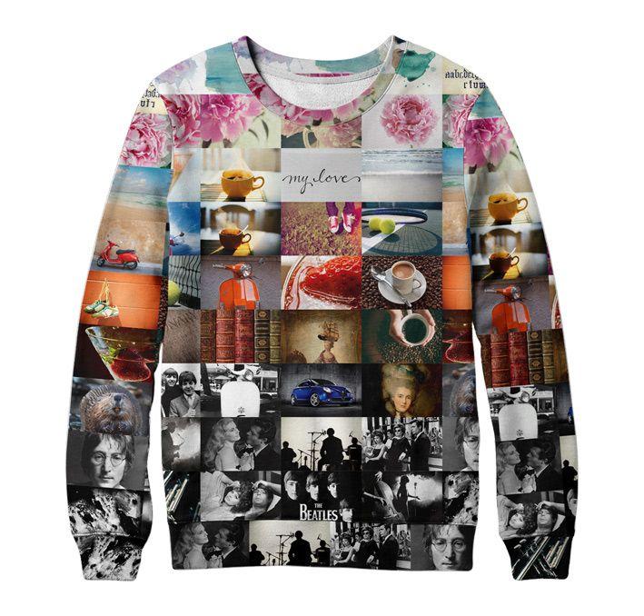 Люблюcвитер - свитшоты и футболки с индивидуальным дизайном