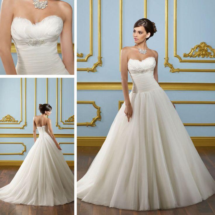 12 best low back wedding dresses images on pinterest for Low cut bra for wedding dress