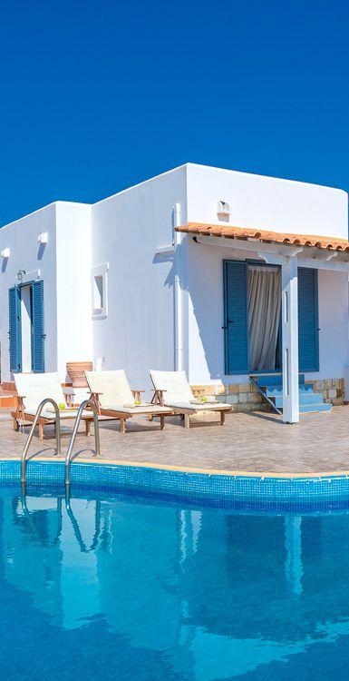 Sunny Villa in Tersanas, Chania, Crete