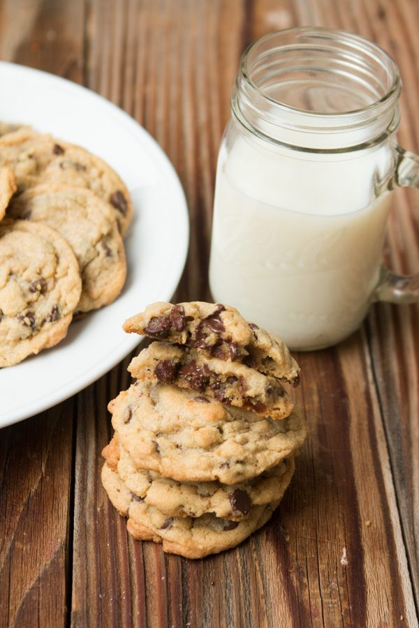 Chocolate Chip Pudding Cookies - Oh Sweet Basil
