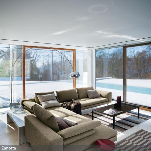 sitzecke vor fensterfront fenster pinterest condos. Black Bedroom Furniture Sets. Home Design Ideas