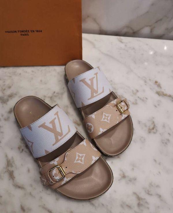 Bom Dia Flat Mule Louis Vuitton Sandals