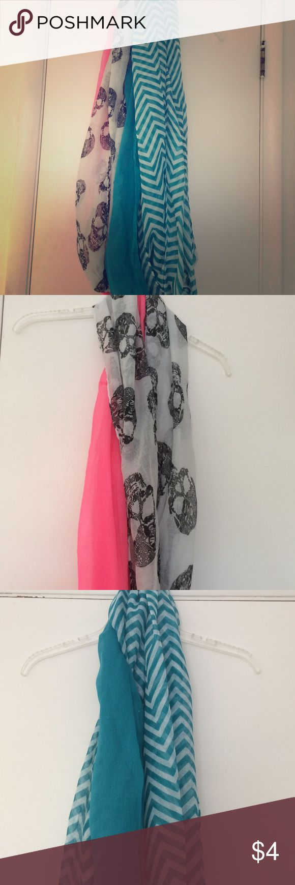 Selling this Pack of four scarfs on Poshmark! My username is: meea98. #shopmycloset #poshmark #fashion #shopping #style #forsale #Faded Glory #Accessories