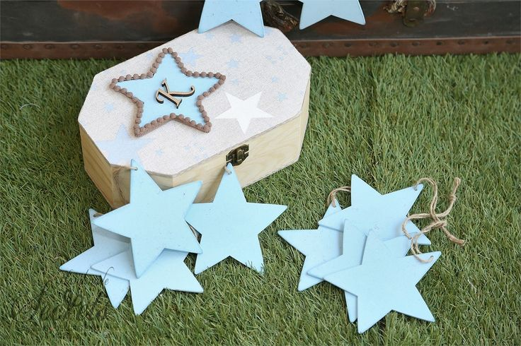 Κουτί για ευχές με αστεράκια