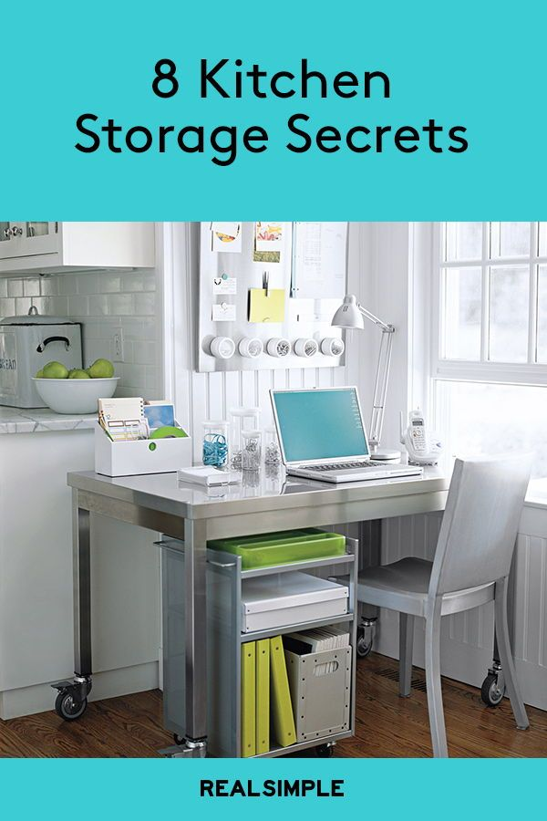 Top Organizers Share Their 11 Best Kitchen Storage Ideas Kitchen Storage Office Supply Organization Cool Kitchens