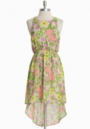 spring festival floral dress from ruche.com