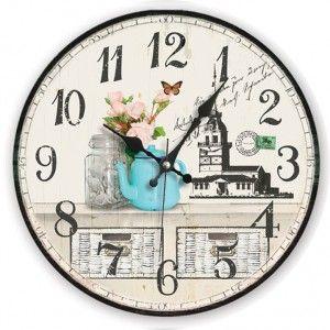 Kızkulesi Antik Ahşap Duvar Saati  Ürün Bilgisi;  MDF gövde Sessiz akar saniye Çap 35 cm. Çok şık ve dekoratif ahşap duvar saati Ürün resimde olduğu gibidir