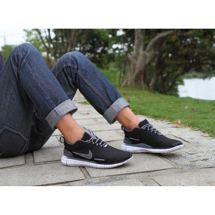 Nike Free OG Breathe Running Shoes Black Grey - Rs3,400