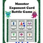 Do your middle schoolers love card battle games such as Magic and Yu-Gi-Oh?  I know mine do.   It got me thinking...why not make a battle card game with exponent rules?  So I did!  And its really fun.  Come check it out.