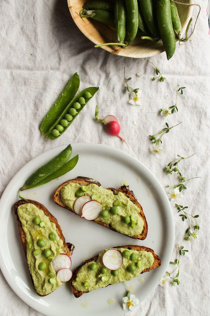Houmous de petits-pois {vegan - sans gluten} - aime & mange