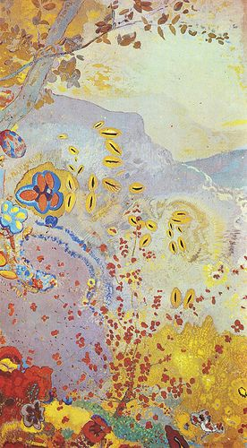 Odilon Redon, Le jour on ArtStack #odilon-redon #art