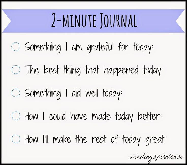 5-Minute Journal DIY